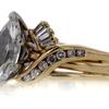 1.48 ct. Marquise Cut Bridal Set Ring #2