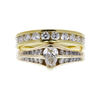 Antique GIA 0.57 ct. Pear Cut Solitaire Ring, G, VS2 #3