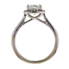 1.21 ct. Cushion Cut Halo Ring #4