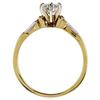 0.67 ct. Round Cut Bridal Set Ring, G-H, VS1 #3