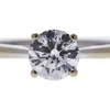 1.01 ct. Round Cut Solitaire Ring, F, VS2 #1