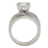 2.04 ct. Cushion Cut Solitaire Ring, I, I1 #4