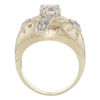 1.25 ct. Old European Cut 3 Stone Ring, I, VS2 #4