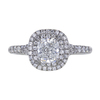 0.79 ct. Cushion Cut Halo Tiffany & Co. Ring, F, VVS2 #3