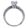 1.01 ct. Asscher Cut Solitaire Ring, D, VVS1 #1
