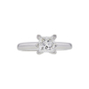 1.0 ct. Princess Cut Solitaire Ring, I, VVS2 #3