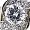 1.20 ct. Round Cut Central Cluster Ring #2