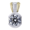 1.02 ct. Round Cut Pendant Necklace, I, VS1 #1