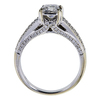 1.03 ct. Princess Cut Solitaire Ring, F-G, I1 #3