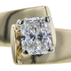 1.00 ct. Radiant Cut Solitaire Ring, H, SI1 #1