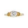 1.09 ct. Round Cut 3 Stone Ring, K, I1 #3