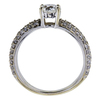0.70 ct. Round Cut Solitaire Ring, F, SI1 #1
