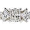 0.81 ct. Radiant Cut Bridal Set Ring, G, SI1 #4