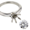 1.34 ct. Round Cut Solitaire Ring #3