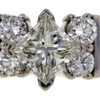 .99 ct. Princess Cut Central Cluster Ring #2