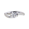 0.67 ct. Round Cut Solitaire Ring, G, SI1 #2