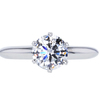 1.23 ct. Round Cut Solitaire Tiffany & Co. Ring, F, VS2 #3