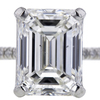 3.51 ct. Emerald Cut Solitaire Ring #4