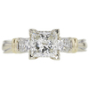 1.52 ct. Princess Cut Solitaire Ring, I, VS2 #3