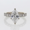 2.19 ct. Marquise Cut Solitaire Ring #4