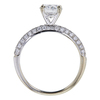 0.91 ct. Round Cut Solitaire Ring, E, SI2 #3