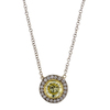 1.13 ct. Round Cut Pendant Necklace #2