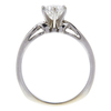 1.02 ct. Round Cut Bridal Set Ring, H, I2 #4