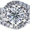 0.90 ct. Round Cut Bridal Set Ring, I, I1 #4