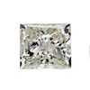 1.00 ct. Princess Cut Bridal Set Ring #4