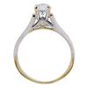 0.93 ct. Round Modified Brilliant Cut Solitaire Ring, G-H, VS2-SI1 #3