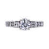 0.95 ct. Round Cut Solitaire Ring, H, SI1 #3