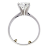 1.5 ct. Round Cut Solitaire Ring, H, I1 #4