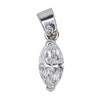 1.27 ct. Marquise Cut Pendant Necklace, G, SI1 #3