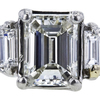 1.51 ct. Emerald Cut Right Hand Ring, I, VS2 #4