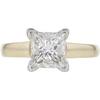 1.53 ct. Princess Cut Solitaire Ring, G, VS1 #3