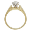 0.55 ct. Round Cut Solitaire Ring, E, VVS2 #4