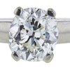 4.39 ct. Cushion Cut Solitaire Ring, M, VS1 #4
