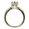 0.92 ct. Round Cut Solitaire Ring, K, VS2 #4