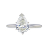 1.41 ct. Pear Cut Solitaire Ring, J, I1 #3