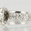 1.43 ct. Princess Cut Bridal Set Ring #3