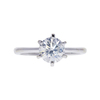 1.12 ct. Round Cut Solitaire Ring, J, I1 #3