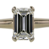 1.10 ct. Emerald Cut Solitaire Ring #1