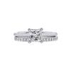 1.08 ct. Princess Cut Bridal Set Ring, G, VVS1 #3