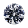 1.15 ct. Round Cut Halo Ring, H, I1 #3