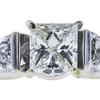 1.01 ct. Princess Cut Bridal Set Ring, H, SI1 #1