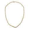 Round Cut Riviera Necklace, I-J, I1-I2 #1