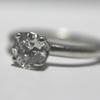 1.26 ct. Round Cut Bridal Set Ring #2