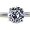 0.96 ct. Round Cut Solitaire Ring, H, I1 #4