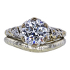 1.36 ct. Round Cut Bridal Set Ring, G-H, VVS2-VS1 #2