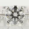 1.32 ct. Round Cut Bridal Set Tiffany & Co. Ring #3